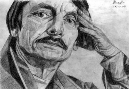 Andrei Tarkovsky by volkov